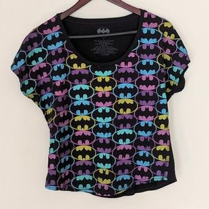 Batman logo short sleeve t-shirt large
